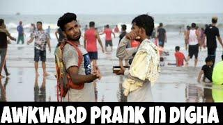AWKWARD PRANK IN DIGHA || [ MOUZ PRANK ] || BEST PRANK IN INDIA || KOLKATA PRANK VIDEO