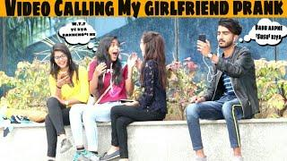 Video Calling My Hot Girlfriend prank | Awesome Reactions | Prank in india |Jaipur tv | rozbuzz