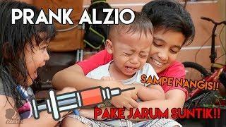 Fadhel & Aness Prank Alzio PAKE JARUM SUNTIK SAMPE NANGIS!! | Kids Brother