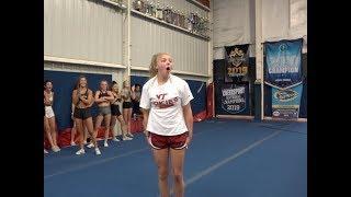 Cheer Extreme ~ Beneath The Crown ~ Sr Elite ~ First Practice 2019