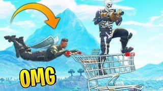 FUNNIEST SHOPPING CART PLAYS! | Fortnite Best Moments #30 (Fortnite Funny Fails & WTF Moments)