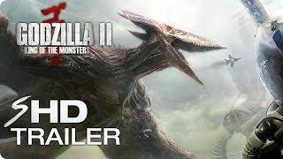 GODZILLA 2: King of the Monsters (2019) Teaser Trailer #1 - MonsterVerse Movie [HD] Concept
