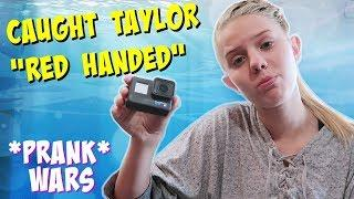 VANESSA CATCHES TAYLOR RED HANDED || PRANK || Taylor and Vanessa