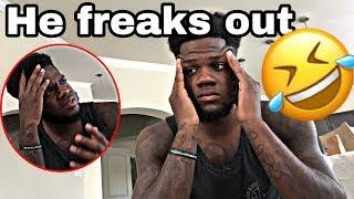 MY BROTHER MOVING IN PRANK ON BOYFRIEND