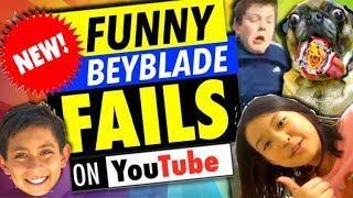 Funny Beyblade Fails!
