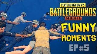 New PUBG Mobile Funny Moments Glitches, Bugs, Fails & wins Compilation #5 | PUBG WTF moments