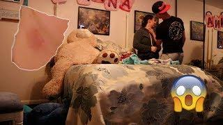 HICKEY PRANK ON BOYFRIEND!