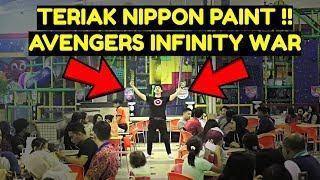 TERIAK NIPPON PAINT ala BLACK PANTHER di AVENGERS INFINITY WAR !!- PRANK INDONESIA