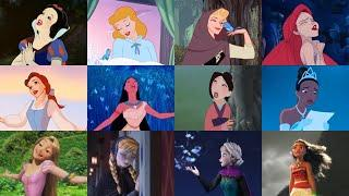 Soundtracks en español latino: Princesas Disney (solos)