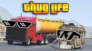 GTA 5 ONLINE : THUG LIFE AND FUNNY MOMENTS (WINS, STUNTS AND FAILS #37)