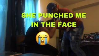 I'VE BEEN TEXTING YOUR BOYFRIEND! (she cried)- PRANK FT. @StuddChubbsTV