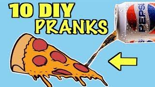 10 FUNNY Pranks You Can Do At Home On Friends and Family - HOW TO PRANK | Nextraker