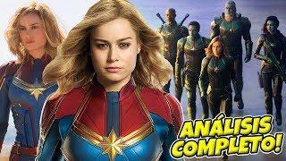¡ÉPICO!⭐CAPITANA MARVEL Trailer, Mar-Vell, Skrulls, Ronan y Más!