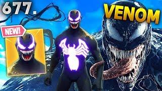*REAL* VENOM IN FORTNITE..WTF!!? Fortnite Funny WTF Fails and Daily Best Moments Ep.677