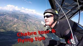 Hanggliding at Laragne final part - site guide for the Chabre area