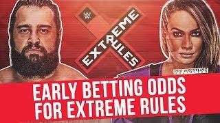 Early Betting Odds For Extreme Rules
