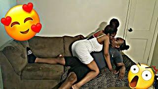 I CANT STOP KISSING YOU PRANK ON BOYFRIEND!!! (he gets annoyed)