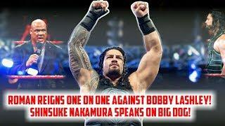 Roman Reigns Extreme Rules Plans|| Shinsuke Nakamura Speaks On Roman Reigns