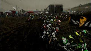 Dirt bike racing (extreme) sports