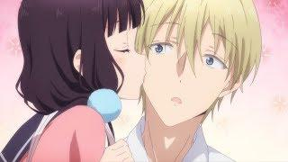 Funny Accidental/Unexpected Kisses in Anime | Hilarious Moments
