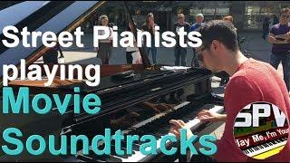 When Street Pianists play Movie Soundtracks