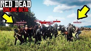 32 PLAYER FIGHT CLUB in Red Dead Online! RDR2 Online Custom Lobby Funny Moments!
