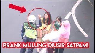 PRANK JADI PEMULUNG MAU MASUK MALL !!!!