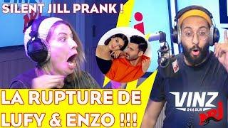 PRANK DE L'EXTREME ! VINZ PIEGE SILENT JILL DANS LA RUPTURE DE LUFY & ENZO !