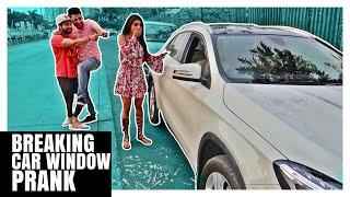 Breaking Car Window PRANK | Rimorav Vlogs