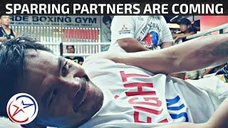 Manny Pacquiao Training Soundtrack | Trains to the Tune of Buwan ( Juan Karlos) | Sparring Partners?