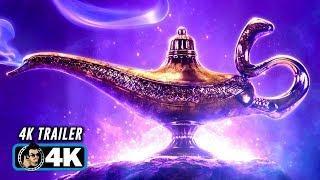ALADDIN Official Trailer #1 (4K ULTRA HD - 2019) Will Smith Disney Movie