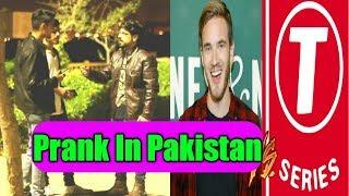 Pewdiepie VS T-series Prank | Pranks In Pakistan | Humanitarians | 2018