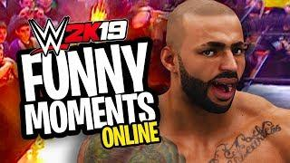 HILARIOUS EXTREME RULES ONLINE MATCH!! | WWE 2K19 Funny Moments Online #1