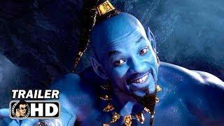 ALADDIN Teaser Trailer #3 - Will Smith as CGI Genie (2019) Disney Movie HD