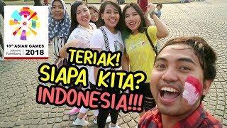 NGAKAK!!! Teriak SIAPA KITA? INDONESIA! Niruin Komentator Bung JEBRET -Prank Indonesia Nasgul#37
