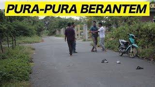 PURA-PURA BERANTEM DI TEMPAT UMUM ENDINGNYA MALAH NGEDAB part 2  - PRANK INDONESIA