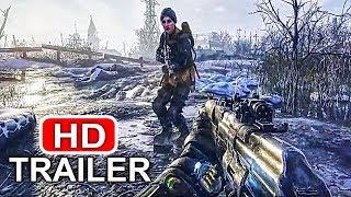 METRO EXODUS Gameplay  Trailer (E3 2018) PS4/XBOX ONE/PC