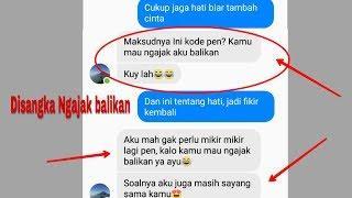 Prank Text Mantan pake lagu Karna Su Sayang malah disangka Ngajak balikan | Versi Bahasa Indonesia