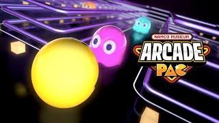 Namco Museum Arcade PAC - Official Announcement Trailer