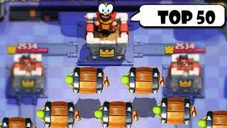 Top 50 Most Epic Battles in Clash Royale! - Clash Royale Funny Moments, Fails, Glitches, Montage #82