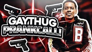 Gay Thug Calls ANGRY Thug PRANK CALL