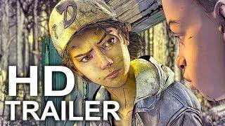 THE WALKING DEAD Telltale Season 4 Trailer (2018) PS4/Xbox One/PC