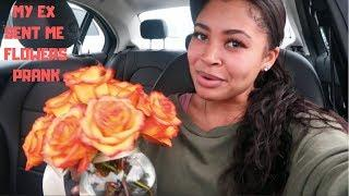 MY EX BOUGHT ME FLOWERS PRANK ON BOYFRIEND