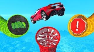 Which Tube Is The CORRECT WAY? - GTA 5 Funny Moments