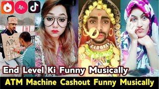 ATM Machine Cash Out Funny Musically | Best Collection Of Tik Tok Comedy Videos Compilation 2018