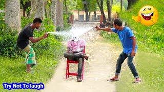 Must Watch Best Funny????????Comedy Videos 2019 - Ep-68_Try not to laugh #FunBoxBD