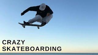 CRAZY SKATEBOARD TRICKS 2018! BEST SKATE & SKATEBOARDING & SKATING COMPILATION #1