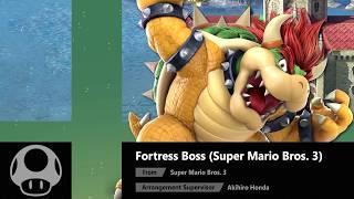 Fortress Boss (Super Mario Bros. 3) - Super Smash Bros. Ultimate Soundtrack