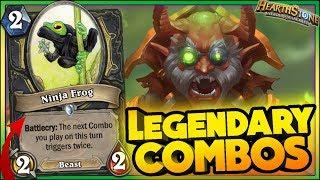LEGENDARY COMBOS & WTF Moments - Hearthstone Funny Rng Moments