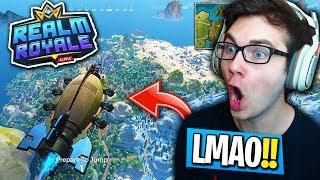 THIS IS THE NEW FORTNITE... (Realm Royale Funny Moments!)